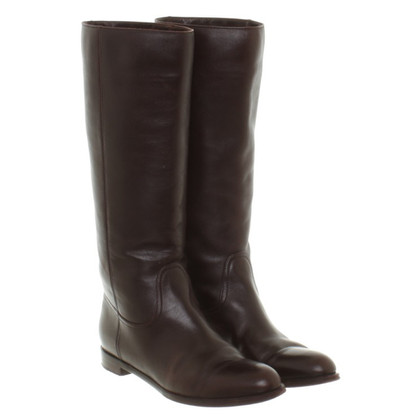 Sergio Rossi Boots in brown