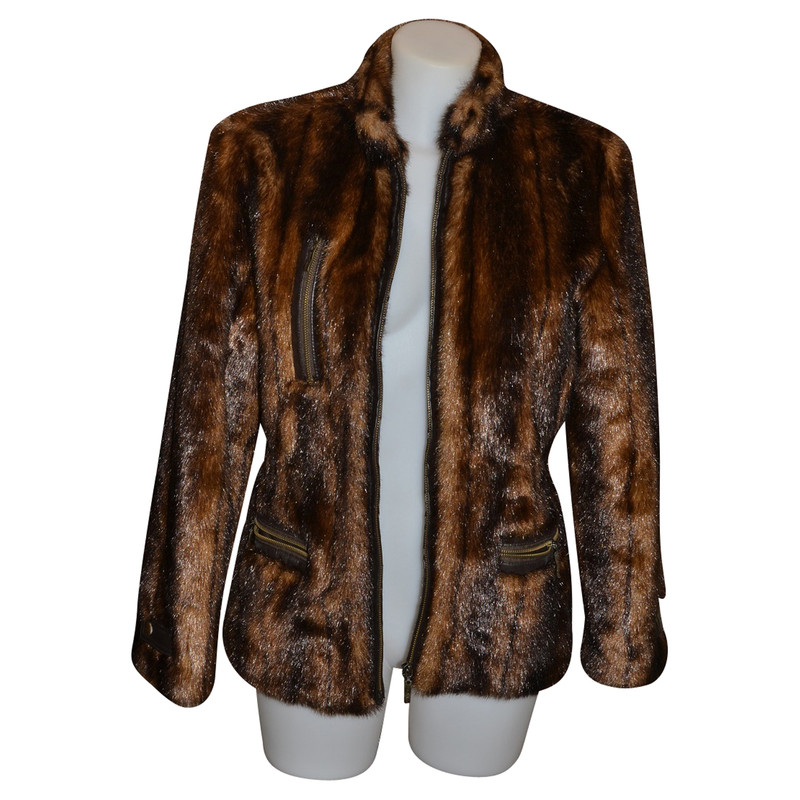 Balmain Faux fur jacket