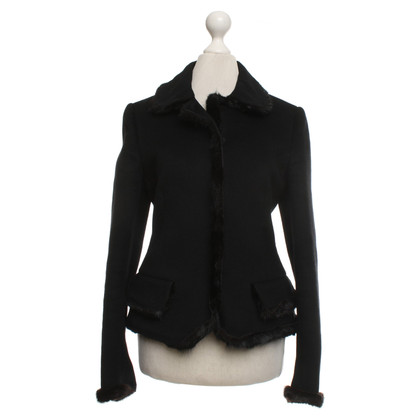 Prada Jacket with fur trim