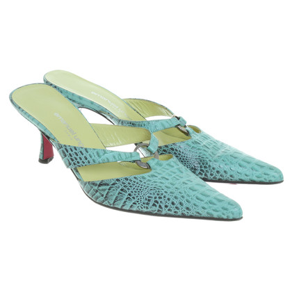 Emanuel Ungaro pumps in menta verde