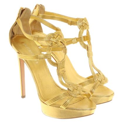 Emilio Pucci Sandaletten in Gold