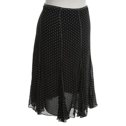 L.K. Bennett skirt with dot pattern