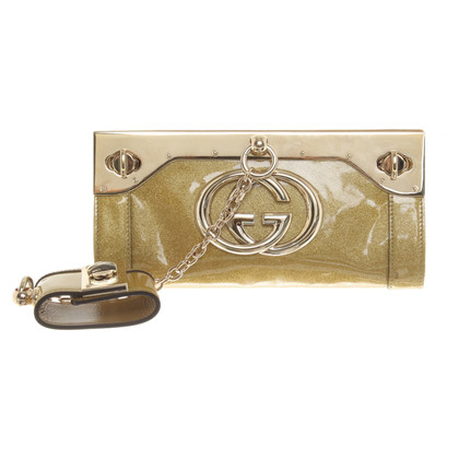 Gucci clutch geel