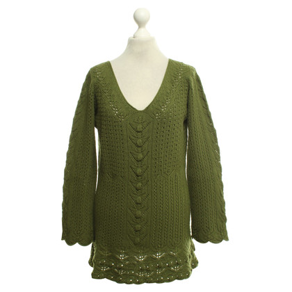 Alberta Ferretti Sweater with knit pattern