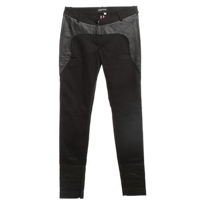 Kilian Kerner Pantalon avec détails en cuir