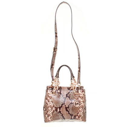Michael Kors Hand bag in Snake design