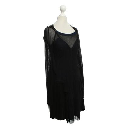 Jean Paul Gaultier Dress in black and blue