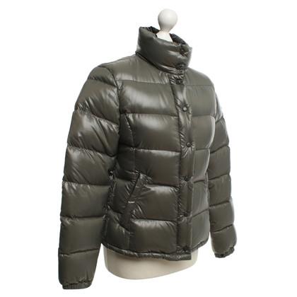 Moncler giacca trapuntata in cachi
