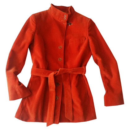 Fay Orange cotton jacket