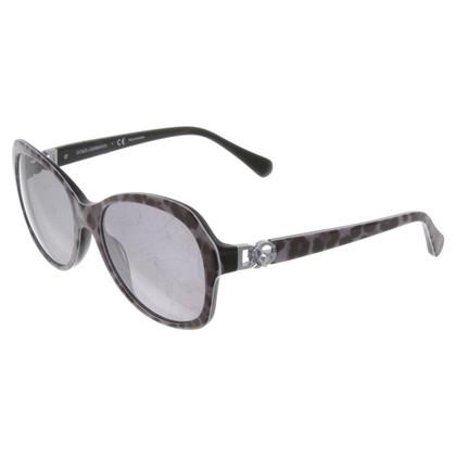 Dolce & Gabbana Sonnenbrille mit Muster