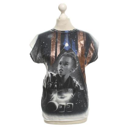 Balenciaga T-Shirt mit Print