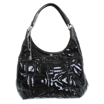 DKNY Patent leather handbag