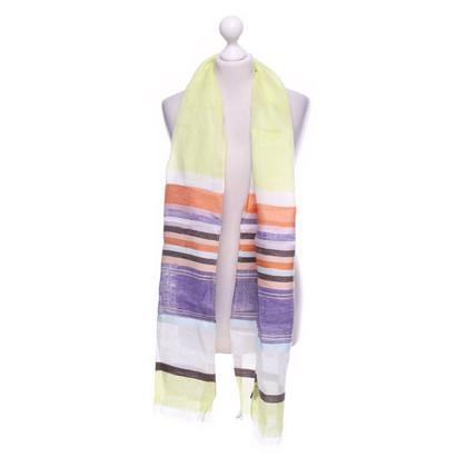 Moschino Schal aus Leinen