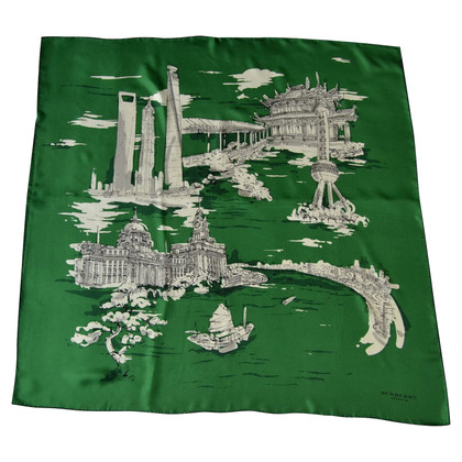 Burberry Prorsum motifs écharpe de soie