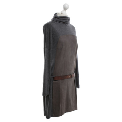Brunello Cucinelli Kleid in Grau