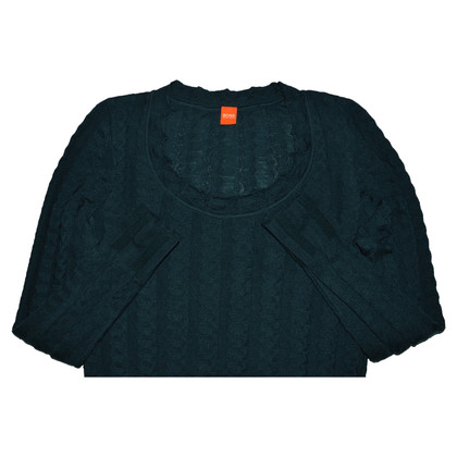 Hugo Boss Green Wool Sweater