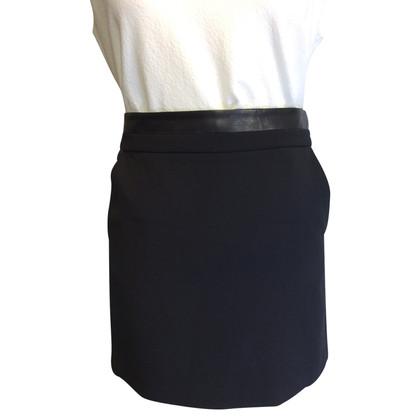 Vince Miniskirt wollen stof