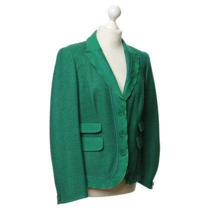 Rena Lange Blazer in verde muschio