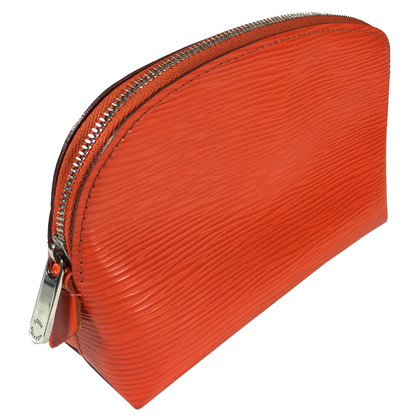 "Louis Vuitton ""Pochette Cosmétique Epi"" in Orange"