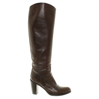 René Lezard Boots in Brown