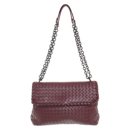 "Bottega Veneta ""Olimpia Bag Medium"" a Bordeaux"
