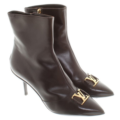 Louis Vuitton Boots in Dark Brown