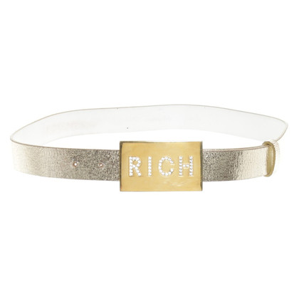 Richmond riem in goud