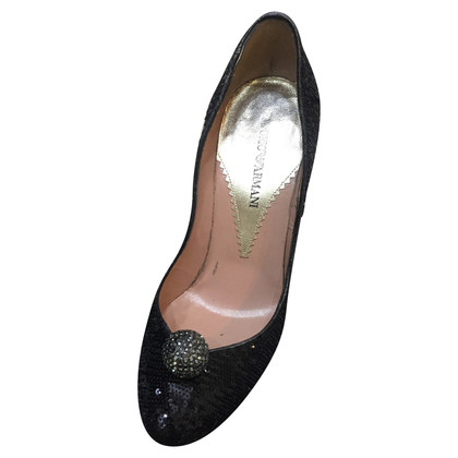 Armani Pumps mit Pailletten