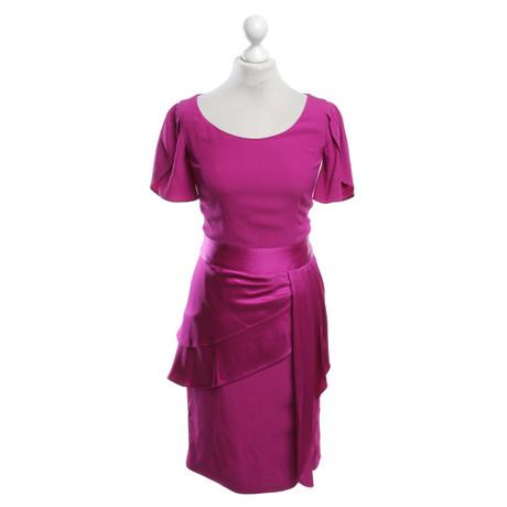 Temperley London Kleid in Fuchsia Fuchsia Versand Rabatt Verkauf EGIRfz