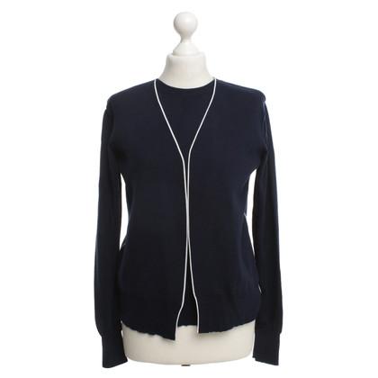 Céline Knitting top in blue