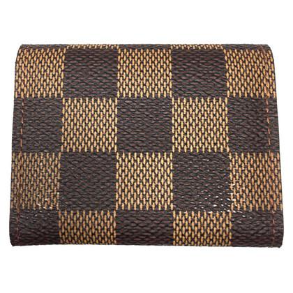 Louis Vuitton Etui für Manschettenknöpfe Damier Ebene