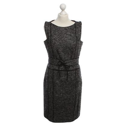 Max Mara Schede jurk met visgraat patroon