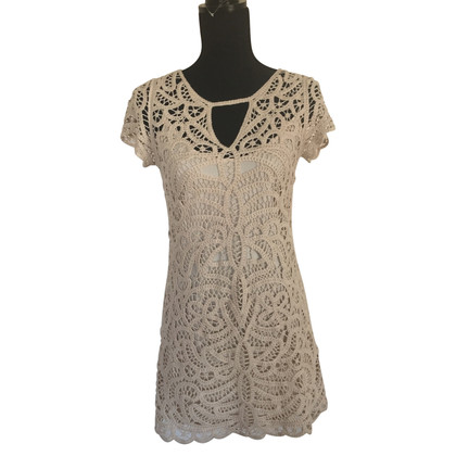BCBG Max Azria Strickkleid in Beige