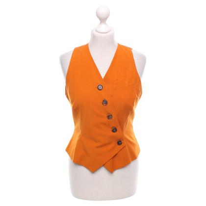 Jil Sander gilet orange
