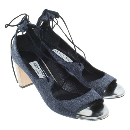 Jimmy Choo Sandaletten in Blau