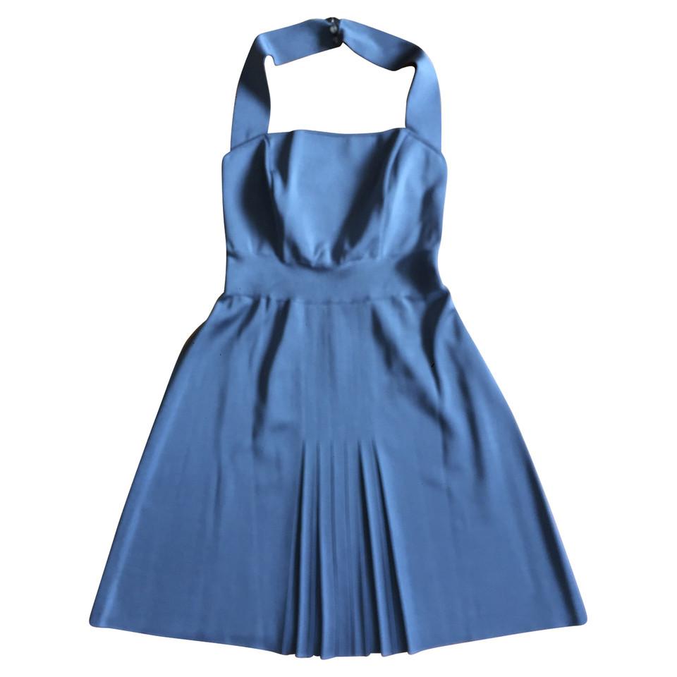 Azzaro Blaues Kleid - Second Hand Azzaro Blaues Kleid gebraucht ...