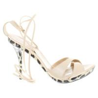 Stuart Weitzman Sandals in cream white