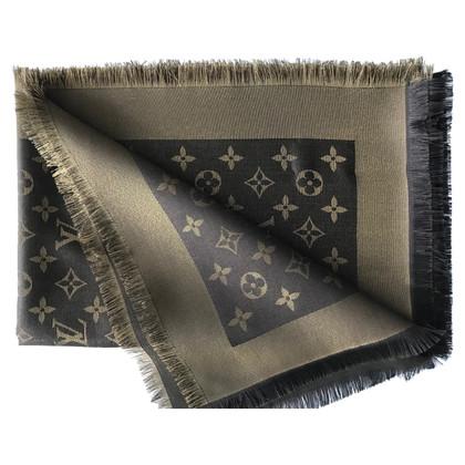 Louis Vuitton Monogram Shine cloth in brown / gold