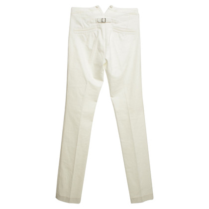 Joseph Velvet Pants in White