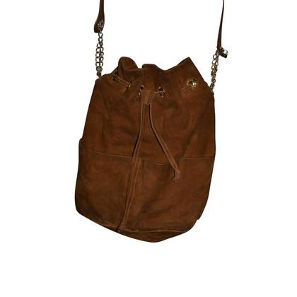 Pollini Suede bucket bag