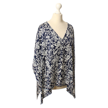 Diane von Furstenberg Silk blouse with flower pattern