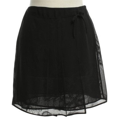 Philosophy di Alberta Ferretti Mini rok in zwart