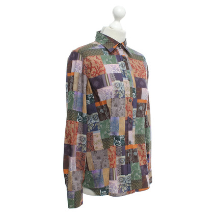 Etro Shirt blouse with pattern mix