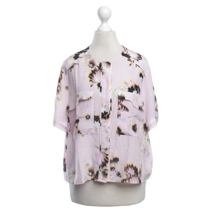 Lala Berlin Silk blouse with floral print