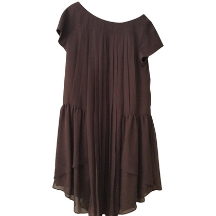 Wunderkind Brown summer dress