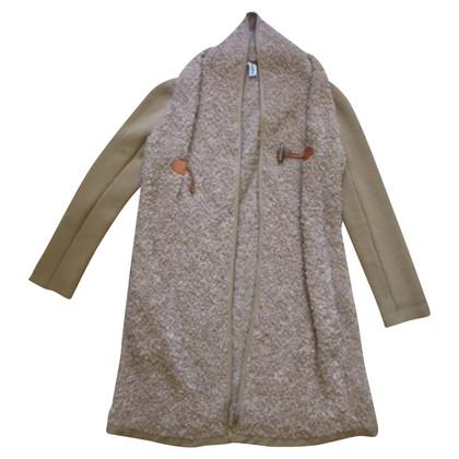 Philosophy di Alberta Ferretti laine plumeau-Moer bouclette alpaca