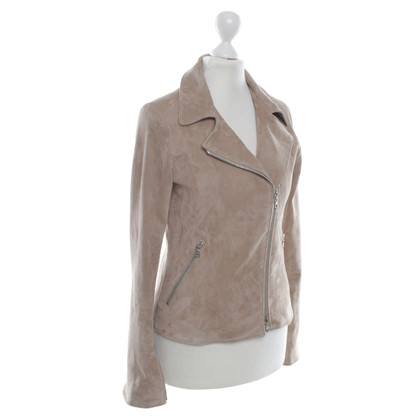 Vent Couvert Leather jacket in beige