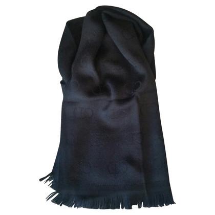 Christian Dior Sciarpa in lana nero