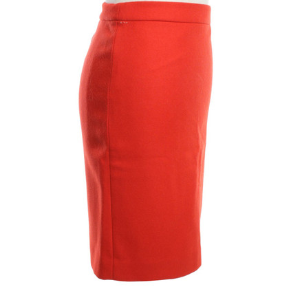J. Crew Pencil skirt in red