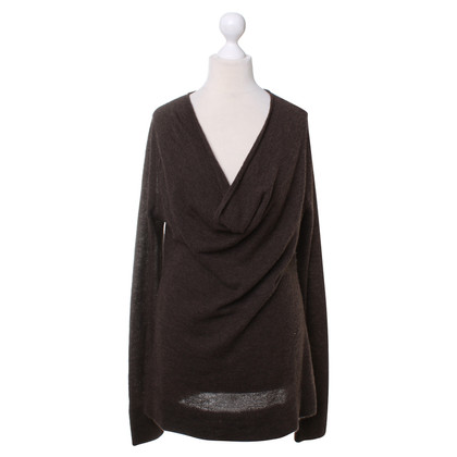 DKNY Brown cashmere sweater